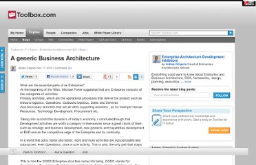 http://it.toolbox.com/blogs/ea-matters/a-generic-business-architecture-42616