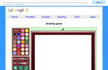 http://www.coloring4all.com/drawing_game_online.htm