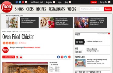 http://www.foodnetwork.com/recipes/food-network-kitchens/oven-fried-chicken-recipe4/index.html