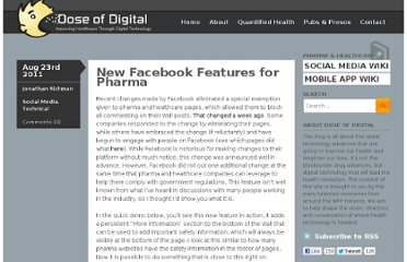 http://www.doseofdigital.com/2011/08/facebook-features-pharma/