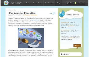 http://blog.learnboost.com/blog/ipad-apps-education/