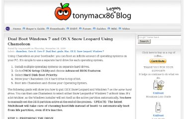 http://tonymacx86.blogspot.com/2009/11/dual-boot-windows-7-and-os-x-snow.html