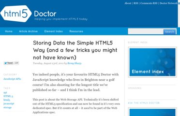 http://html5doctor.com/storing-data-the-simple-html5-way-and-a-few-tricks-you-might-not-have-known/