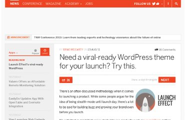 http://thenextweb.com/apps/2011/08/23/launch-effect-is-a-viral-ready-wordpress-theme-for-your-upcoming-launch/