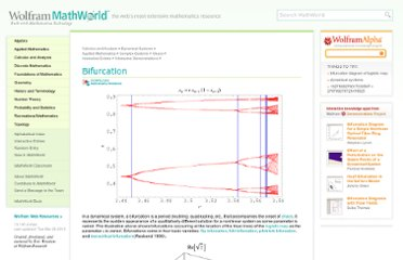 http://mathworld.wolfram.com/Bifurcation.html