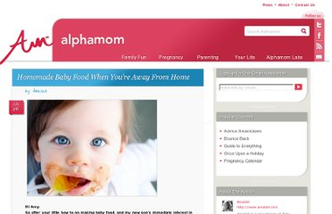 http://alphamom.com/parenting/baby/homemade-baby-food-when-youre-away-from-home/