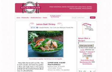 http://www.kitchenparade.com/2008/08/lemon-basil-shrimp.php