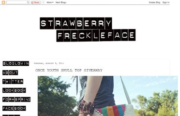 http://strawberryfreckleface.blogspot.com/2011/08/once-youth-skull-top-giveaway.html