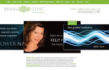 http://www.brainsync.com/shop/free-guided-meditation-online#signUp