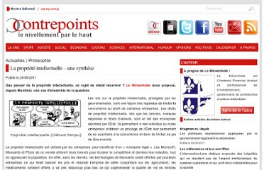 http://www.contrepoints.org/2011/08/24/41919-la-propriete-intellectuelle-%e2%80%93-une-synthese