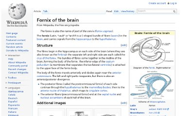 http://en.wikipedia.org/wiki/Fornix_of_the_brain