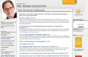 http://markgoulston.com/free-resources-downloads/