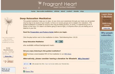 http://www.fragrantheart.com/cms/free-audio-meditations/relaxation/deep-relaxation
