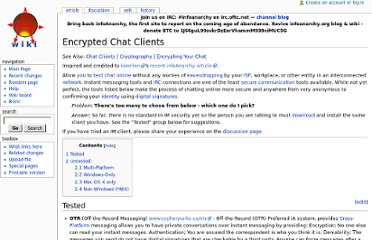 http://www.infoanarchy.org/en/Encrypted_Chat_Clients#Multi-Platform