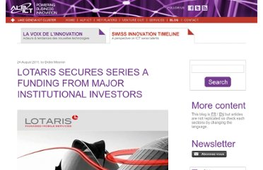 http://blog.alpict.com/2011/08/24/lotaris-secures-series-a-funding-from-major-institutional-investors/?lang=en