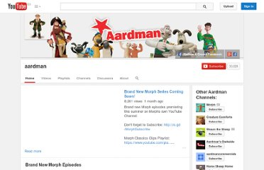 http://www.youtube.com/user/aardman