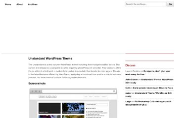 http://5thirtyone.com/unstandard-wordpress-theme/
