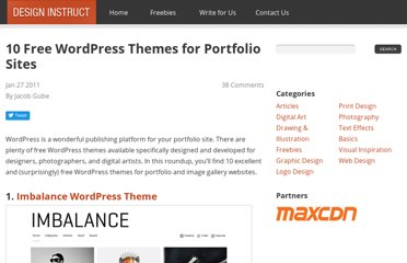 http://designinstruct.com/articles/resources/10-free-wordpress-themes-for-portfolio-sites/