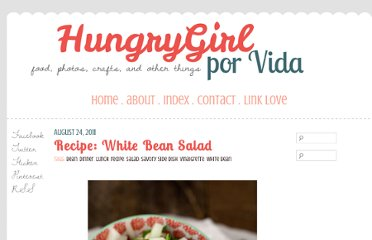 http://www.hungrygirlporvida.com/blog/2011/08/24/recipe-white-bean-salad/