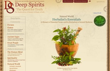 http://www.deepspirits.com/natural-world/herbalist-essentials/