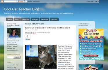 http://coolcatteacher.blogspot.com/2009/02/second-life-and-open-sim-for-newbies.html