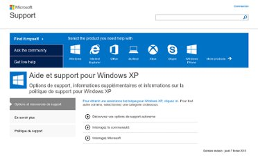 http://support.microsoft.com/ph/1173/fr