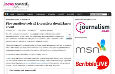 http://www.newsrewired.com/2011/08/25/five-curation-tools-all-journalists-should-know-about/