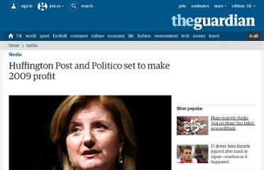 http://www.guardian.co.uk/media/pda/2010/jan/04/huffington-post-politico-to-make-profit