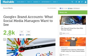 http://mashable.com/2011/08/25/google-plus-brand-accounts/