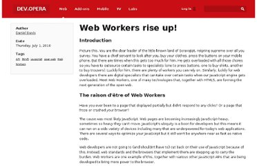 http://dev.opera.com/articles/view/web-workers-rise-up/