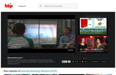 http://blip.tv/concordia-university-television/permaculture-part-i-4464427