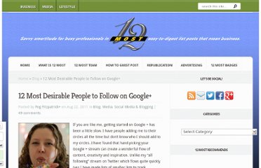 http://12most.com/2011/08/22/12-desirable-people-follow-google/