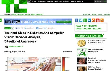 http://techcrunch.com/2011/08/25/the-next-steps-in-robotics-and-computer-vision-behavior-analysis-situational-awareness/