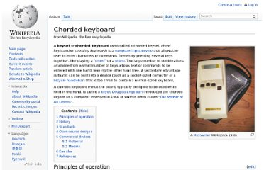 http://en.wikipedia.org/wiki/Chorded_keyboard
