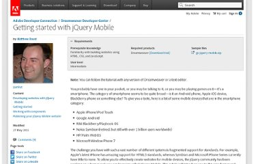 http://www.adobe.com/devnet/dreamweaver/articles/getting-started-with-jquery-mobile.html