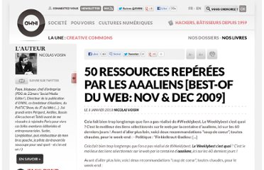 http://owni.fr/2010/01/03/50-ressources-media-politique-internet-aaaliens-best-of-du-web-nov-dec-2009/
