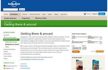 http://www.lonelyplanet.com/argentina/buenos-aires/transport/getting-there-around