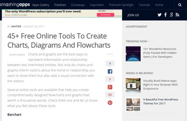 http://www.smashingapps.com/2011/08/26/45-free-online-tools-to-create-charts-diagrams-and-flowcharts.html
