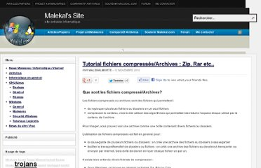 http://www.malekal.com/2010/11/12/tutorial-fichiers-compressesarchives-zip-rar-etc/