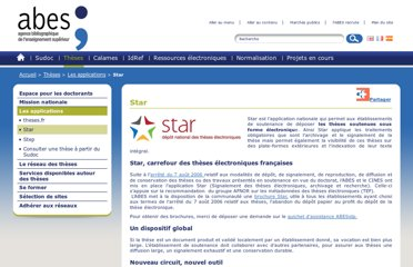 http://www.abes.fr/Theses/Les-applications/STAR
