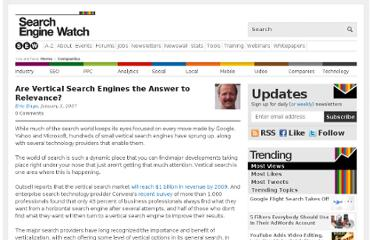 http://searchenginewatch.com/article/2067628/Are-Vertical-Search-Engines-the-Answer-to-Relevance