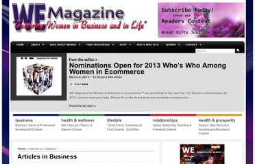 http://wemagazineforwomen.com/category/business/