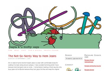 http://www.kaylaksthriftyways.com/the-not-so-nerdy-way-to-hem-jeans/