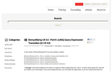http://blah.winsmarts.com/2006/05/21/demystifying-c-30--part-6-linq-query-expression-translation-to-c-30.aspx