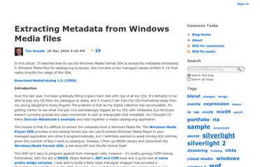 http://blogs.msdn.com/b/tims/archive/2004/03/28/extracting-metadata-from-windows-media-files.aspx
