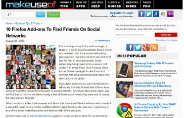 http://www.makeuseof.com/tag/10-firefox-add-ons-to-find-friends-on-social-networks/