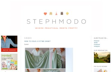 http://www.stephmodo.com/2010/03/how-to-fold-fitted-sheet.html