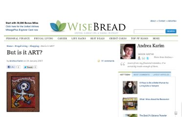 http://www.wisebread.com/but-is-it-art