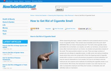 http://www.howtogetridofstuff.com/odor-removal/how-to-get-rid-of-cigarette-smoke-smell/