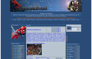 http://www.gamesload.it/pinball1.htm